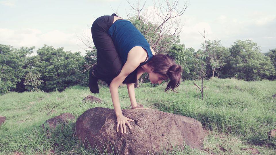 crow pose balance jyoti khatri